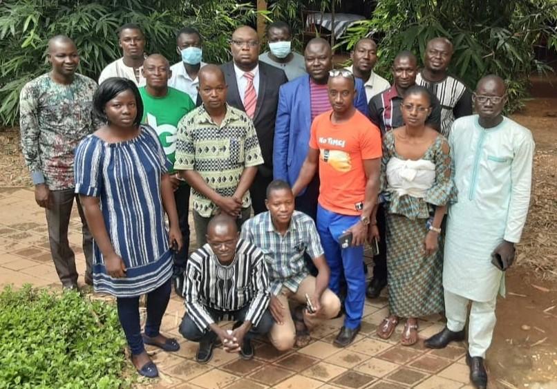 Deuxième session de formation des administrateurs de sites web des communes cibles du PAPCiDDeL du 11 au 13 août 2021, Koudougou